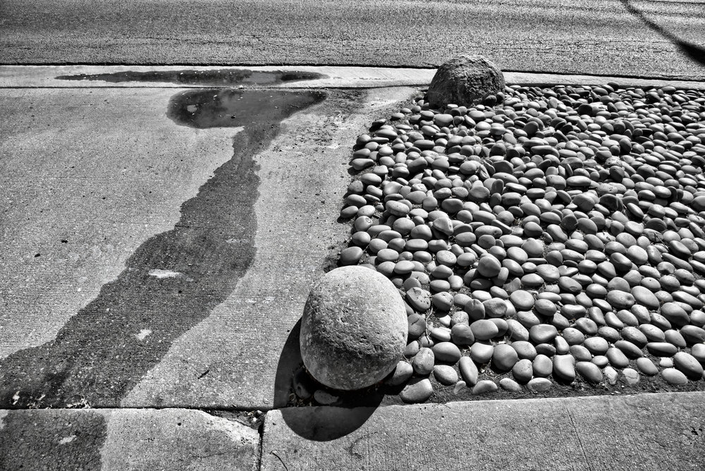 Stones, Gravel, Water
