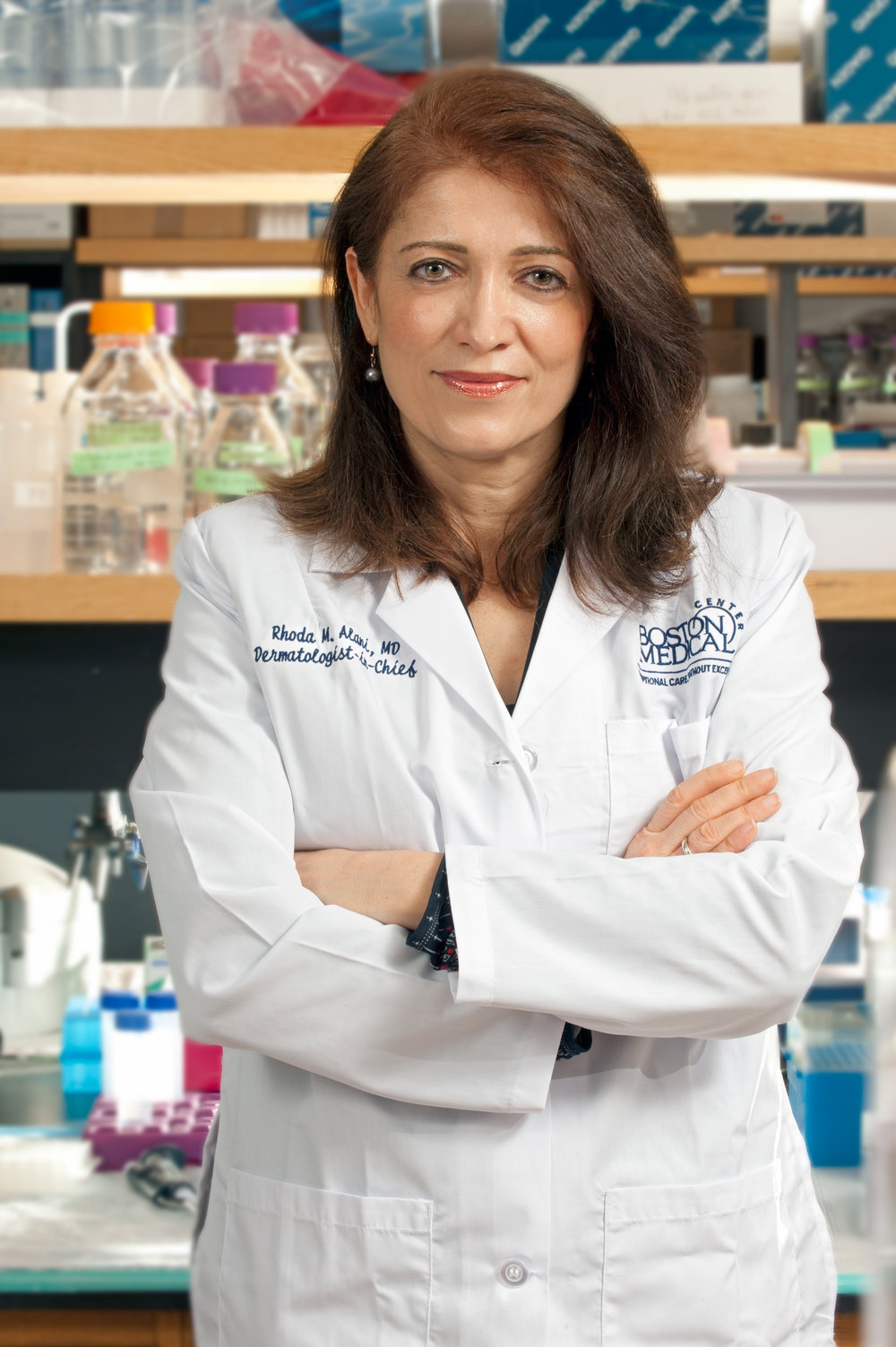 Rhoda M. Alani, MD, Chief, Dept. of Dermatology, BU School of Medicine