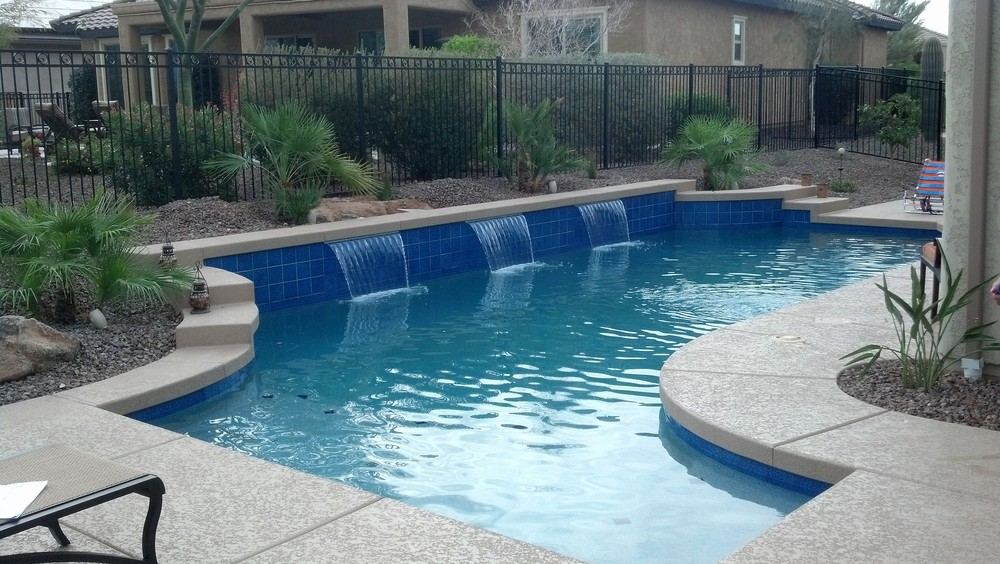 Build a new swimming pool in scottsdale arizona for Pool design tucson