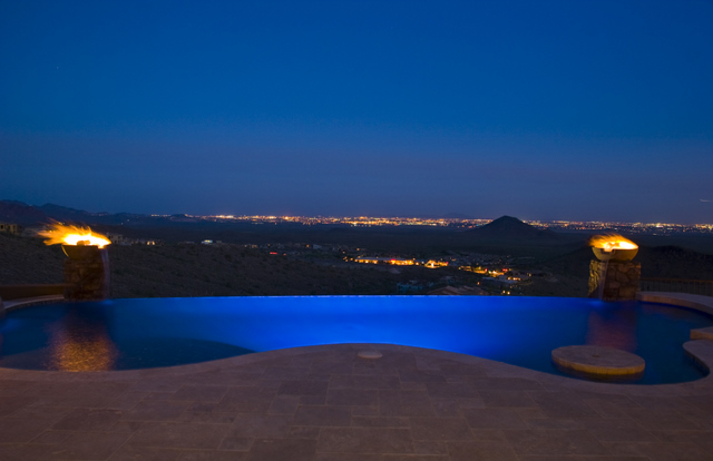 Infinity Edge Swimming Pool Gallery Presidential Pools