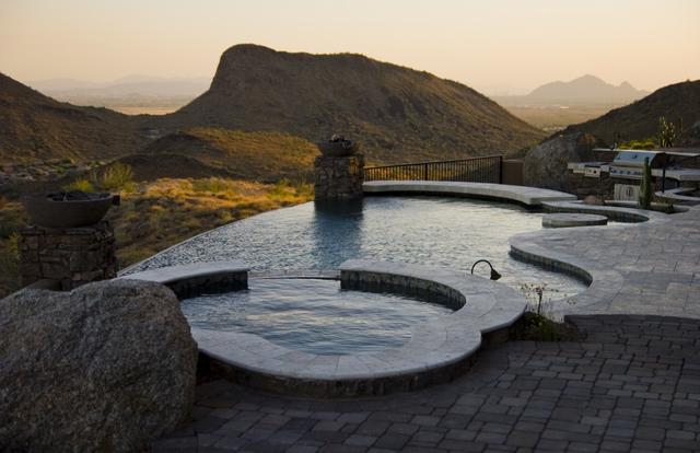 Infinity Edge Swimming Pool Designs Presidential Pools