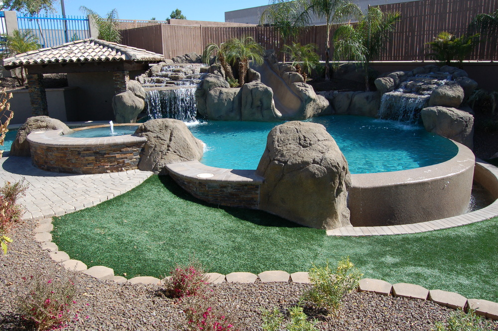 Infinity Edge Swimming Pool Designs Presidential Pools