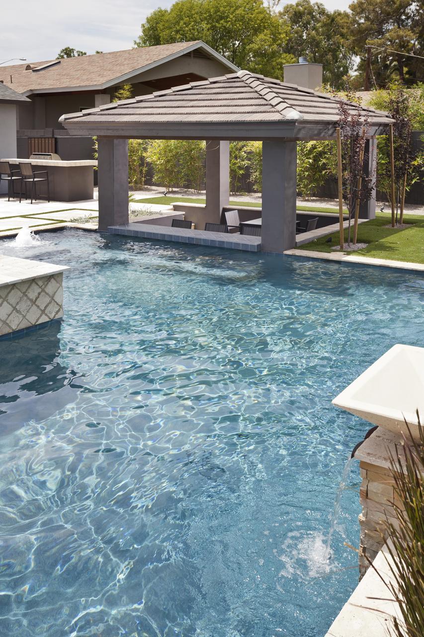 Pool Pictures Gallery : Geometric swimming pool gallery — presidential pools spas