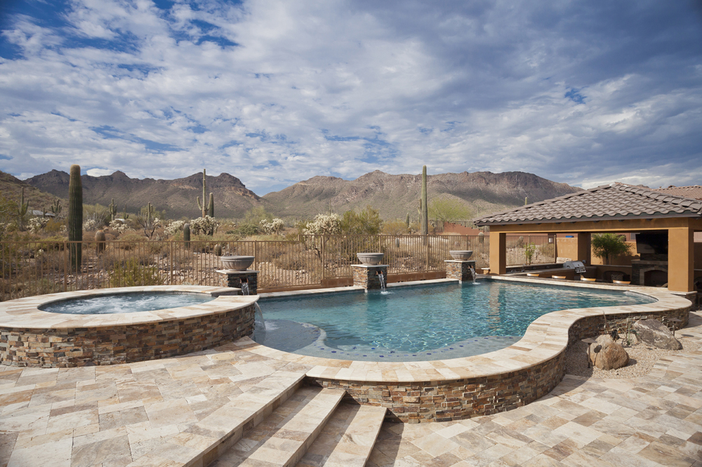 Freeform swimming pool gallery presidential pools spas for Pool design az