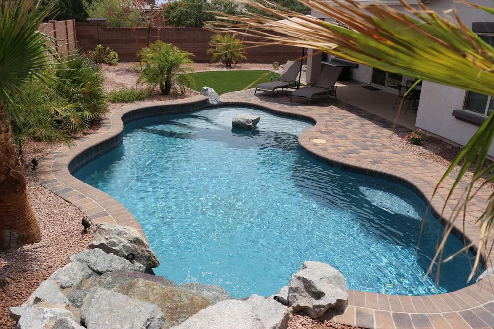 Freeform Swimming Pool Gallery Presidential Pools Spas