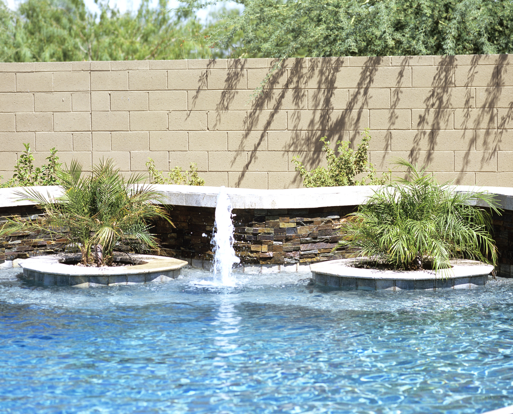 perfect desert backyard u2014 presidential pools spas u0026 patio of arizona