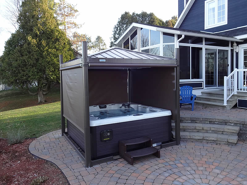 Covers accessories for spas hot tubs swim spas for Types of hot tubs
