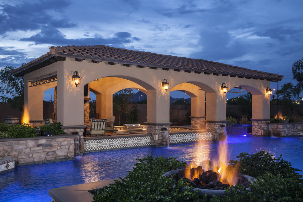 Luxury Backyards Presidential Pools Spas Amp Patio Of Arizona