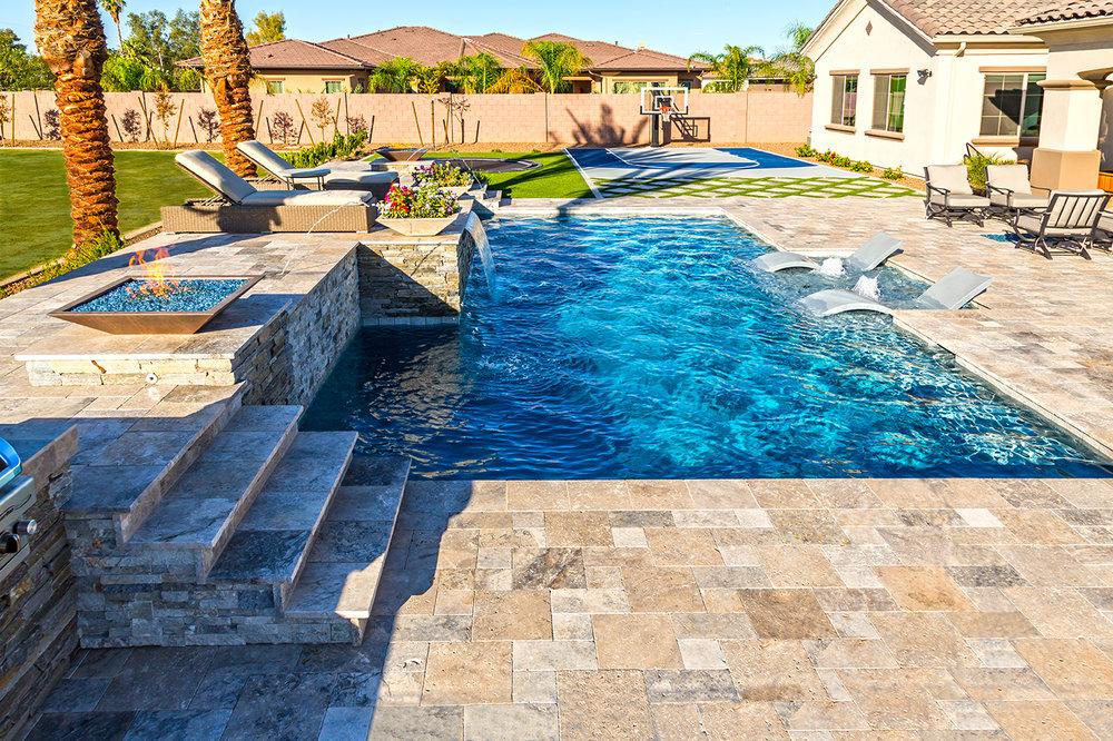 Swimming Pool Gallery Presidential Pools Spas Patio Of Arizona