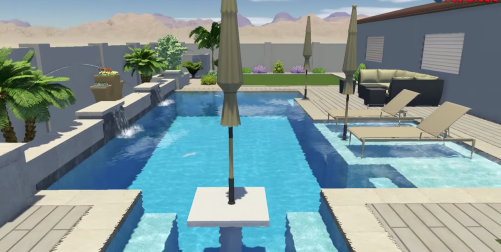 Virtual Reality Pool Design Services — Presidential Pools, Spas ...