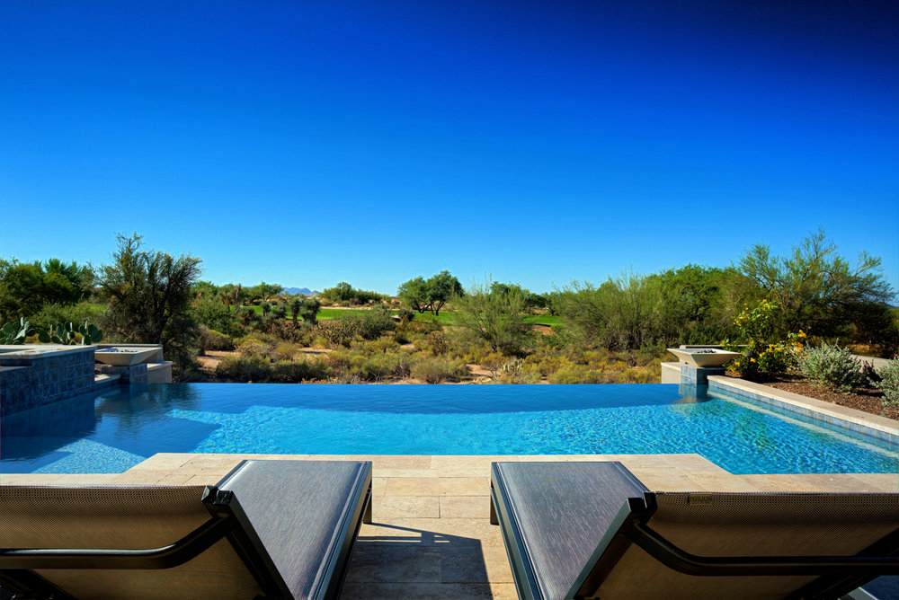 Infinity Edge Swimming Pool Gallery — Presidential Pools, Spas ...