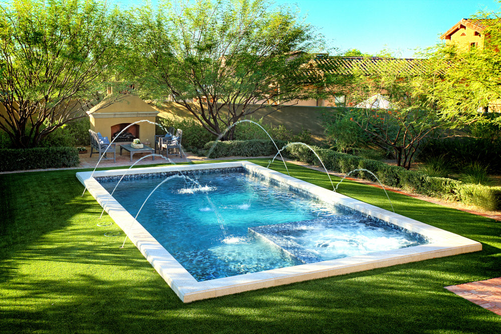 Geometric Swimming Pool Gallery Presidential Pools Spas
