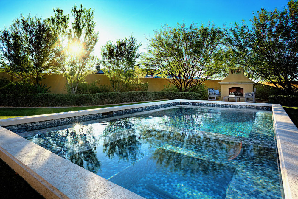 geometric swimming pool gallery presidential pools spas patio of arizona