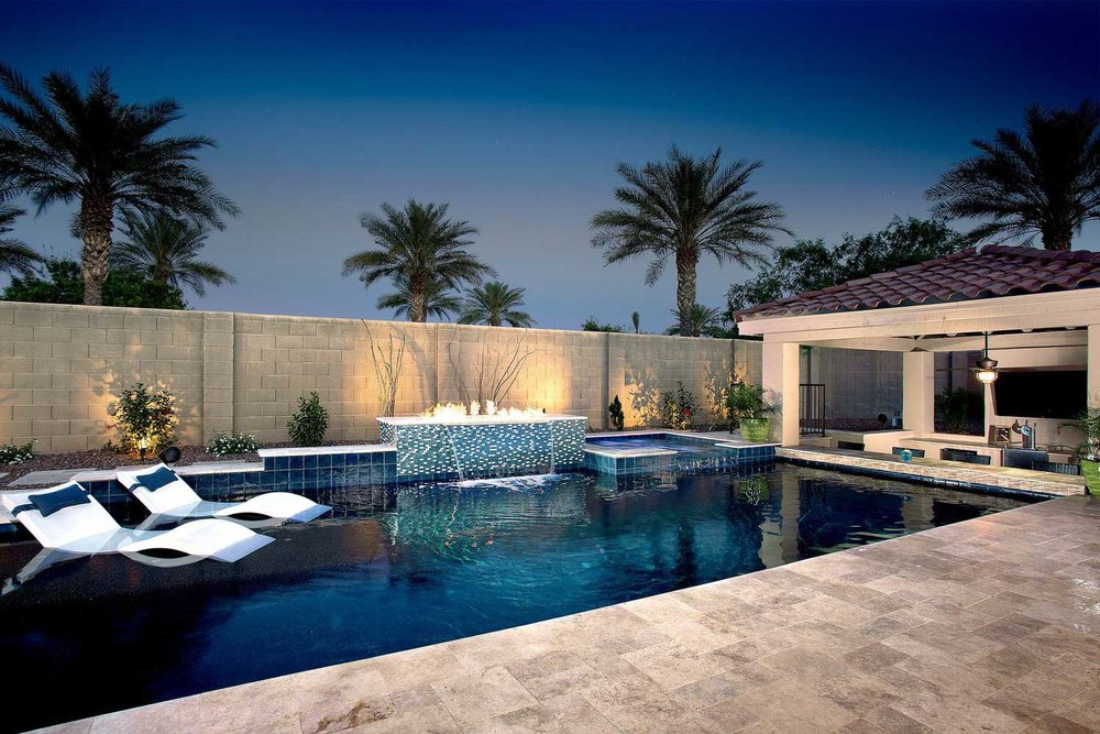 Presidential pools spas patio of arizona phoenix for Pool design tucson