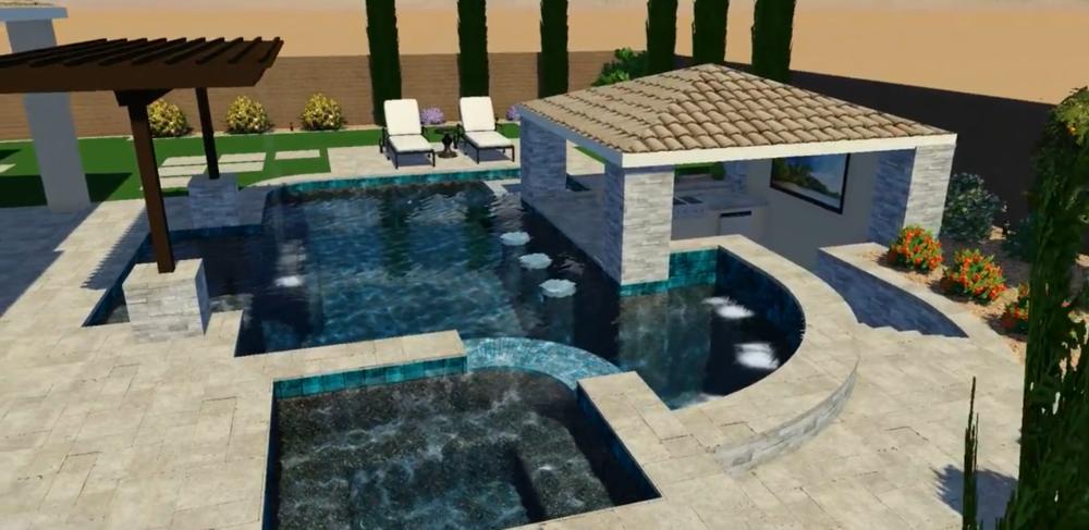 Resort Style Pool Design