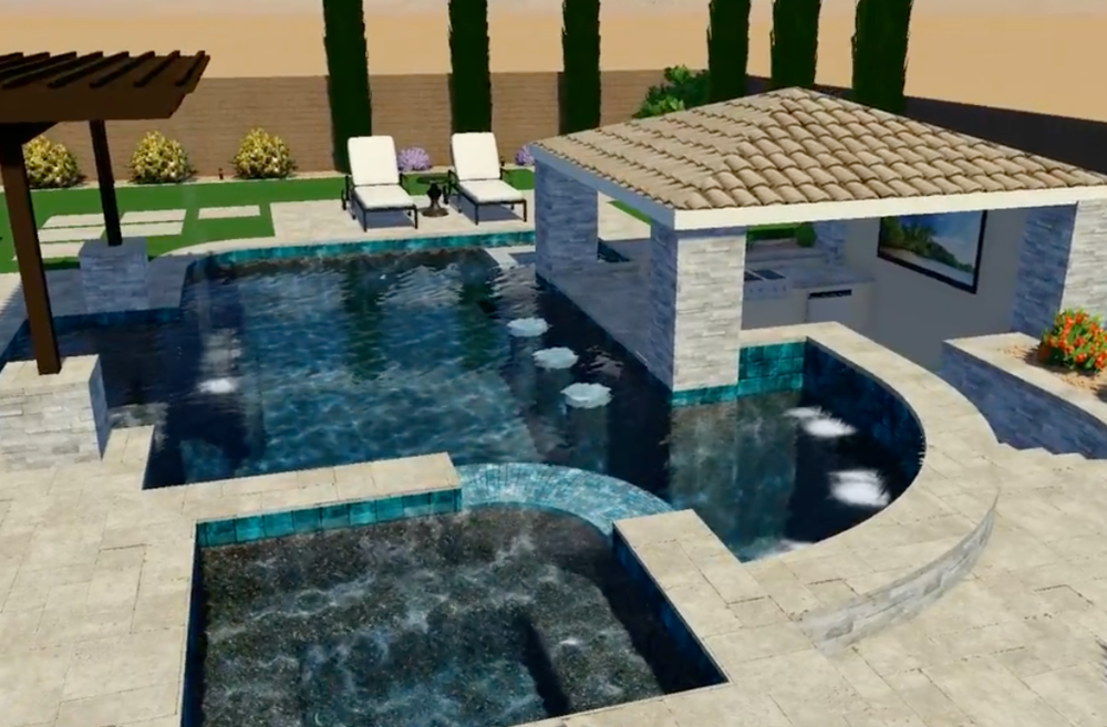 Swimming Pool Virtual Reality Design Arizona