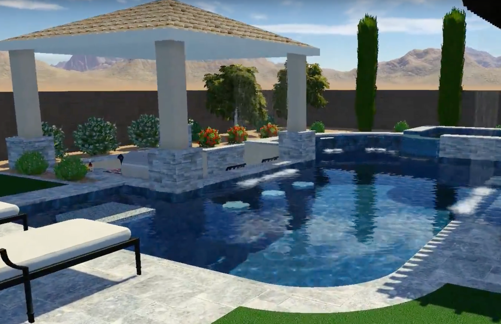 Swimming Pool Design for Arizona Pool Parties