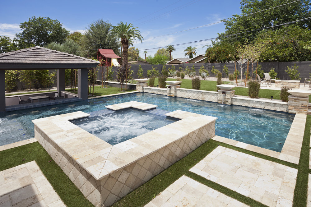Build A Custom Spa In Arizona Presidential Pools Spas