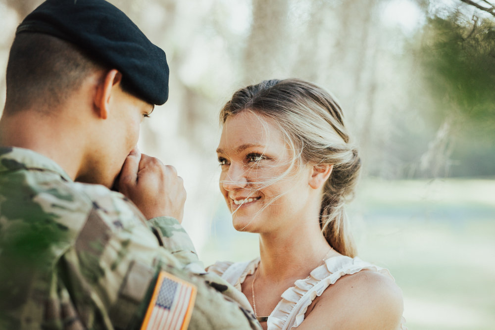Brittany Martorella | Fort Benning Engagement Photographer