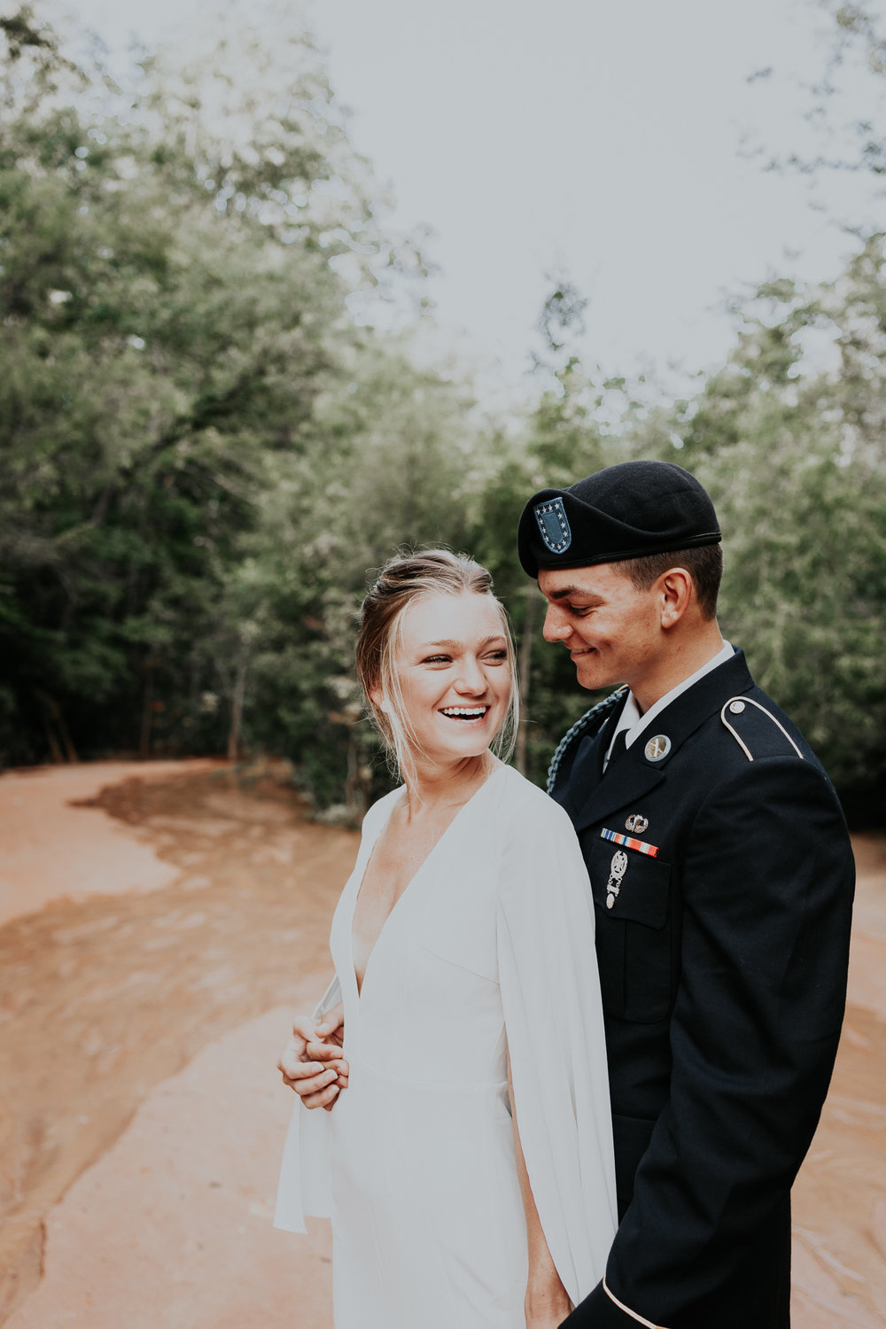 Columbus Georgia Fort Benning Elopement Wedding Photographer