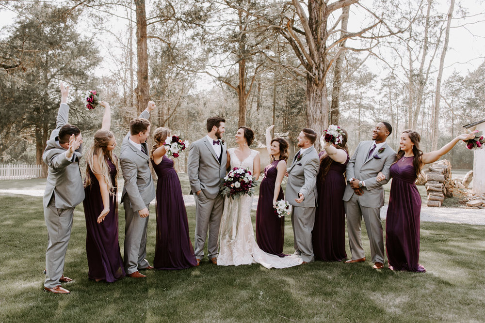 Brittany Martorella Columbus Georgia & Olympia Washington Wedding Photographer.  Historic Southeastern Plantation Spring Wedding just south of Atlanta, Georgia at Hoody Hudson Farm