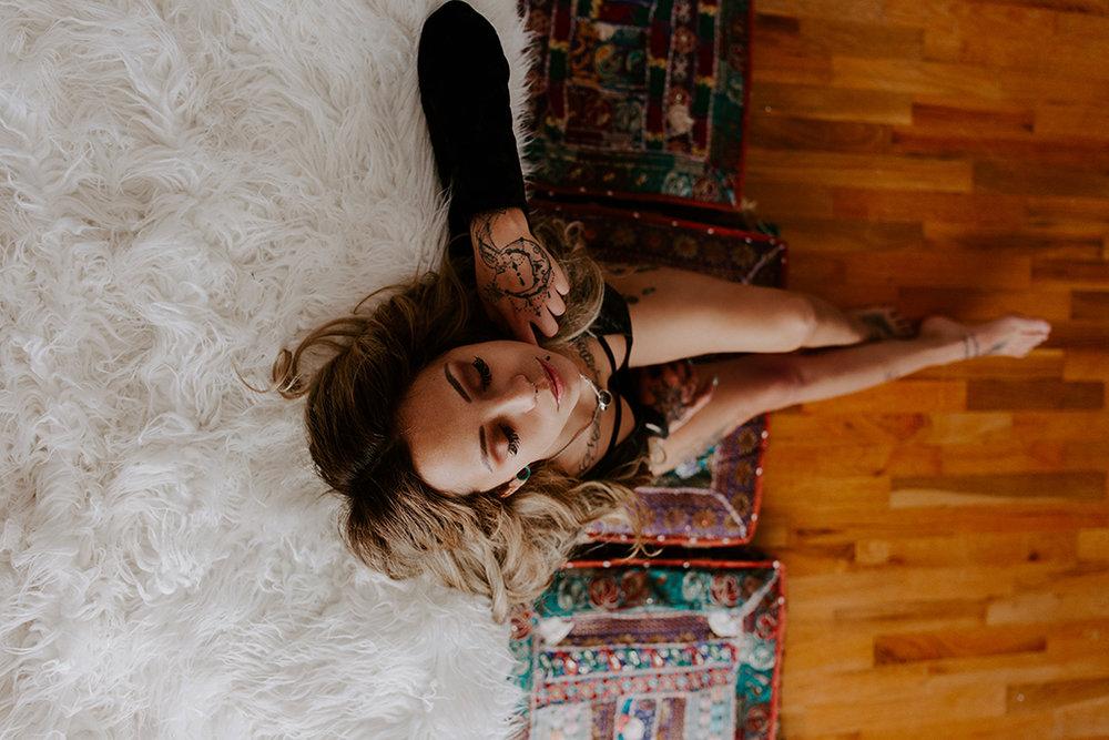 Olympia Washington Boudoir Photographer - Brittany Martorella