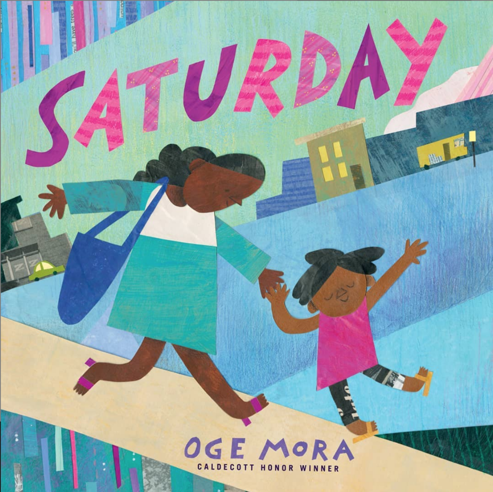 SAturday - Author: Oge MoraIllustrator: Oge MoraPublisher: Little, Brown Books for Young ReadersPublication Date: October 22nd, 2019