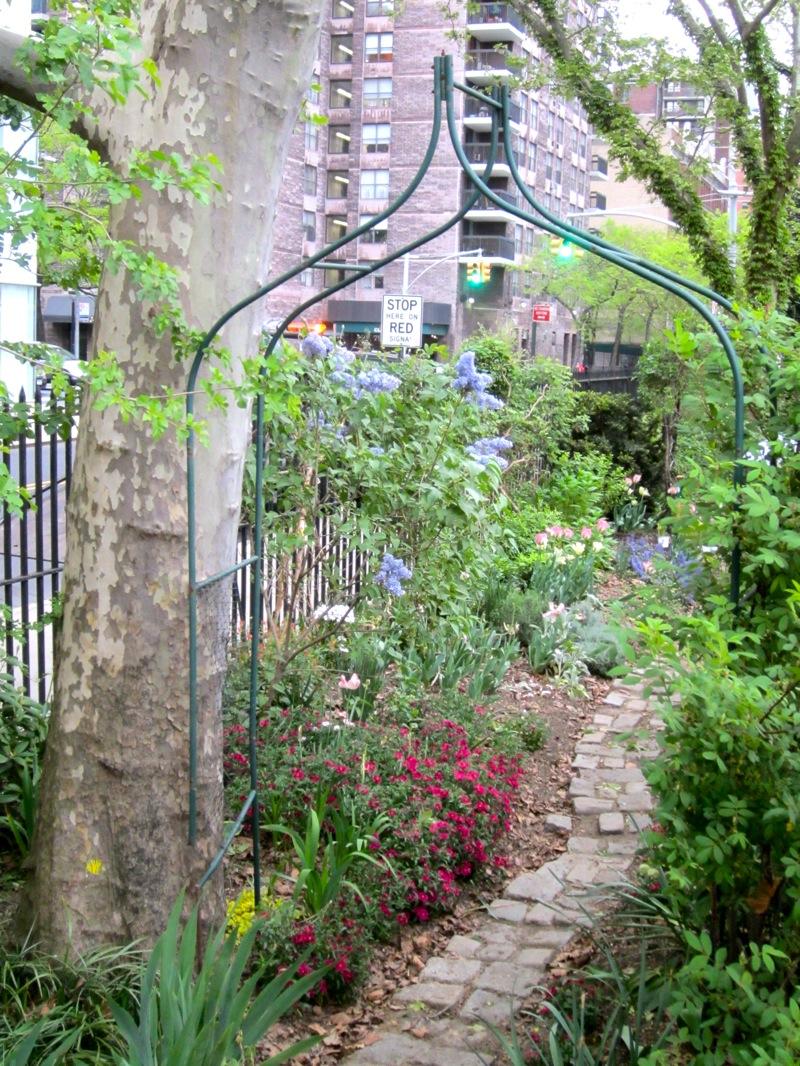 The DeWitt Clinton Rose Garden