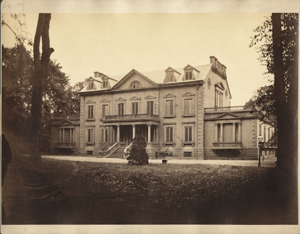 Van Rensselaer Manor in the nineteenth century