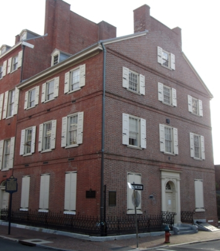 Shipped Mansion, Philadelphia