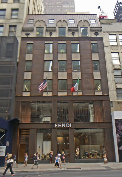 Fendi at 677 Fifth Avenue