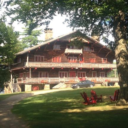 Glamping like a Vanderbilt: a walk around Sagamore Great Camp —
