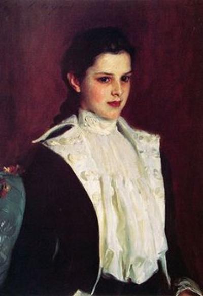 Alice Shepard portrait by John Singer Sargent