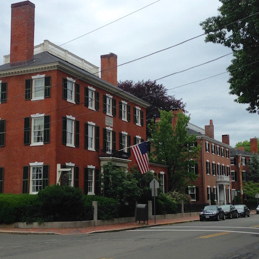 It was not my first stroll along Chestnut Street in Salem, and it won't be my last, as the thoroughfare is lined with one of if not The finest collection of federal homes in America