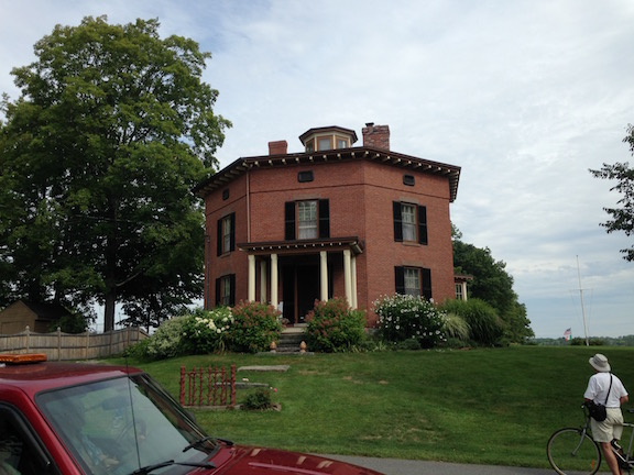 An Octagon house, Wiscasset