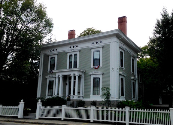 As well as this transitional greek revival/italianate one