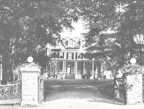 Lakelands, a federal villa modernized for the Schuyler B Steers family of New Orleans