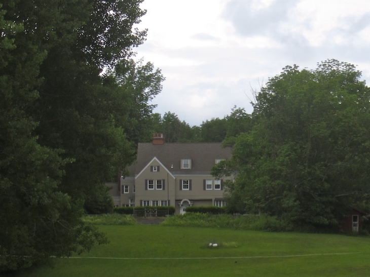 View of the house several years ago