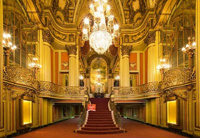 Interior of the Los Angeles Theater