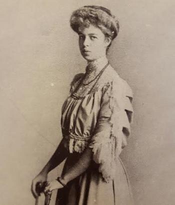Eleanor Roosevelt duuring her debutante days