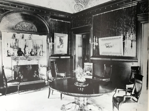 The Dining Room of 457 Madison as it appeared during Harris' time there
