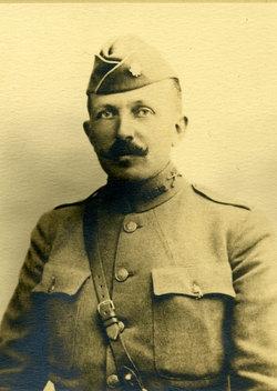 Clarence Fahnestock in uniform