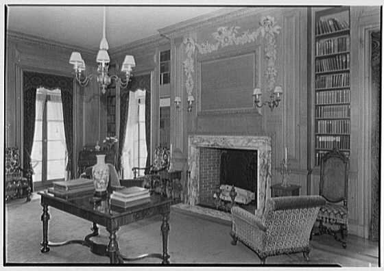 The Library at Eastover, photo: Library of Congress digital collection