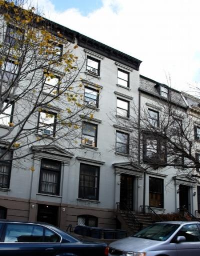 Former van der Hoef residence on Joralemon Street