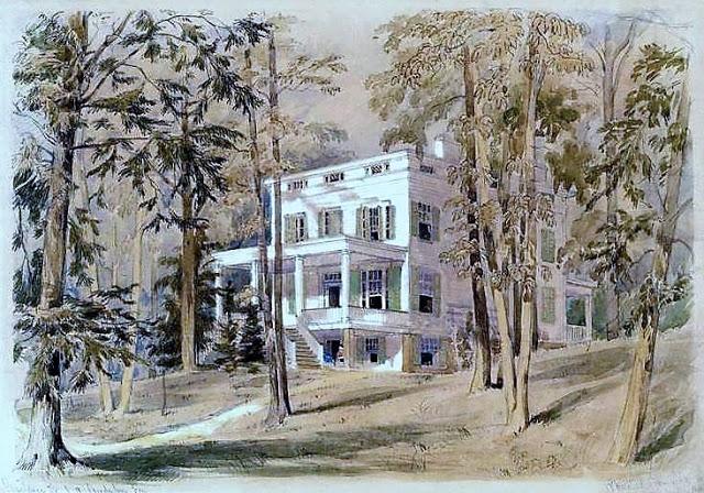 Audubon's home, circa 1857