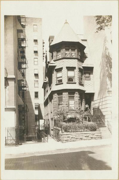 557 West 156th street photo: MCNY archives