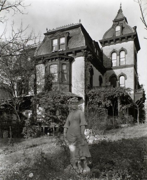 The Wheelock mansion, 1937