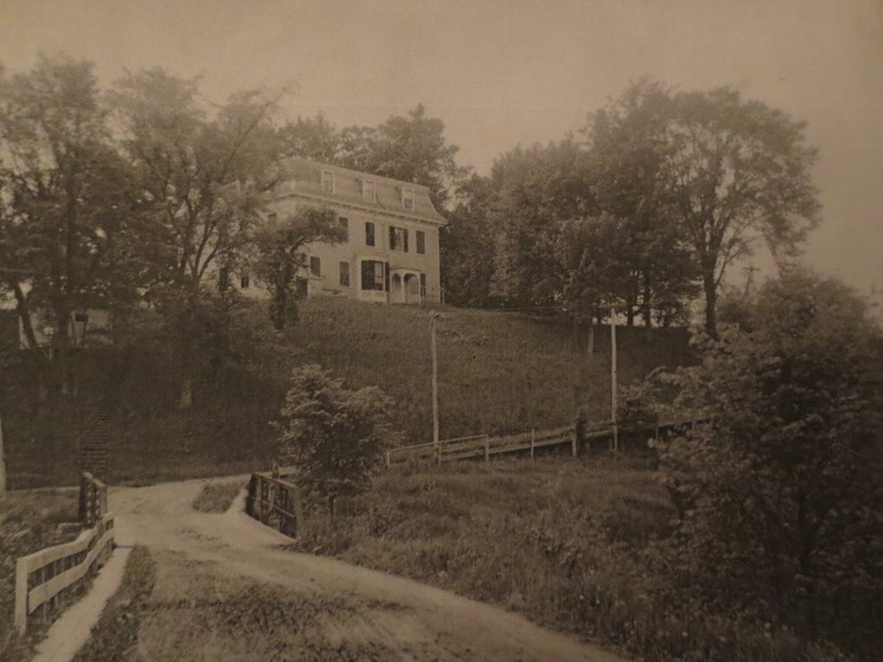 A view of Riverside from below photo: Fenimore Art Museum Library, Cooperstown, NY, Florence Ward Local History Collection