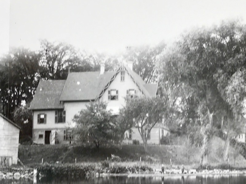 Rockmere, as seen from the river