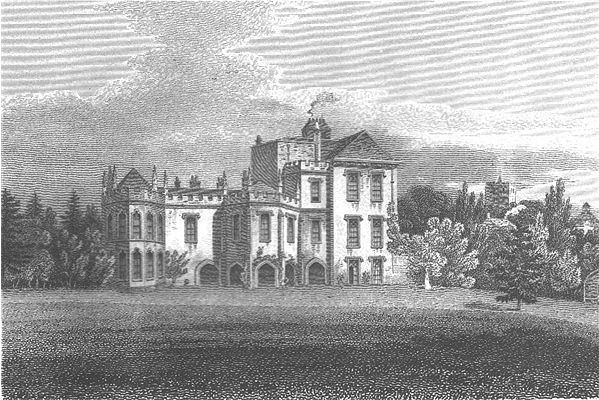 Holywell House in 1806